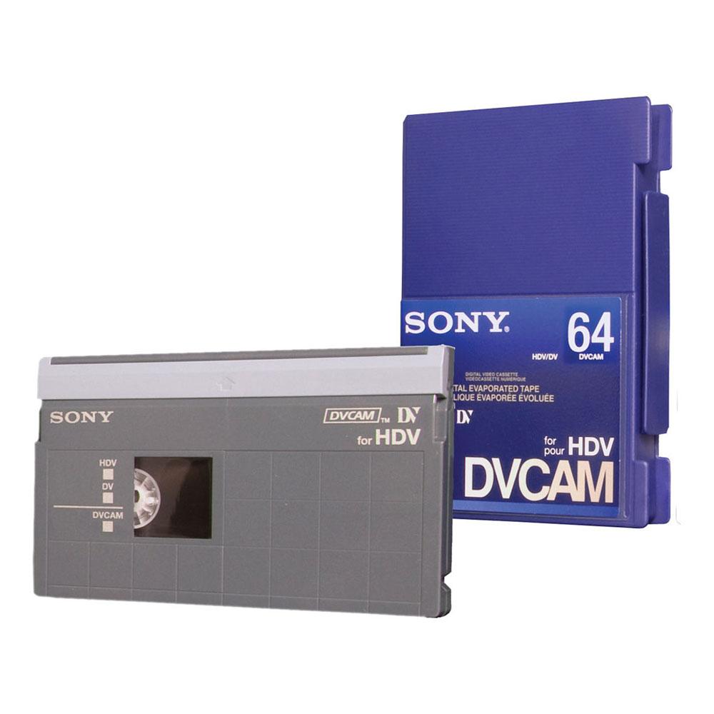 DVCAM for HDV Tape