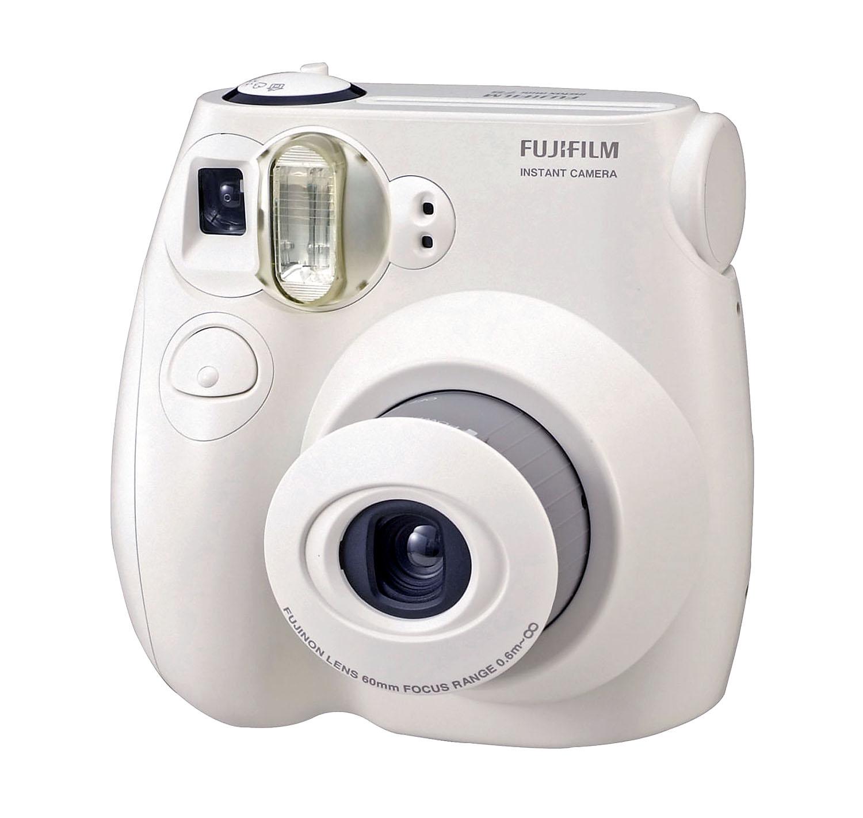 fujifilm instax mini 7s instant film camera white ebay. Black Bedroom Furniture Sets. Home Design Ideas