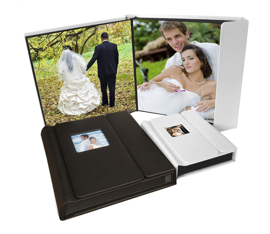 8 x 10 Overlapping Cover Self-Stick Photo