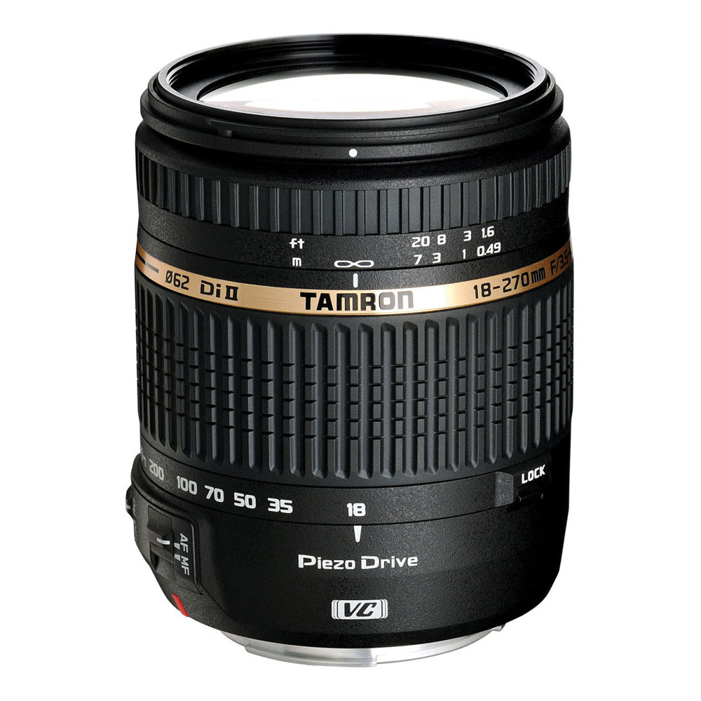 18-270mm f/3.5-6.3 Di II VC PZD AF Lens for Canon