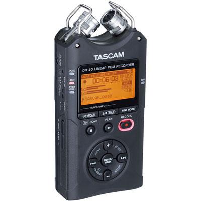DR-40 Digital Audio Recorder