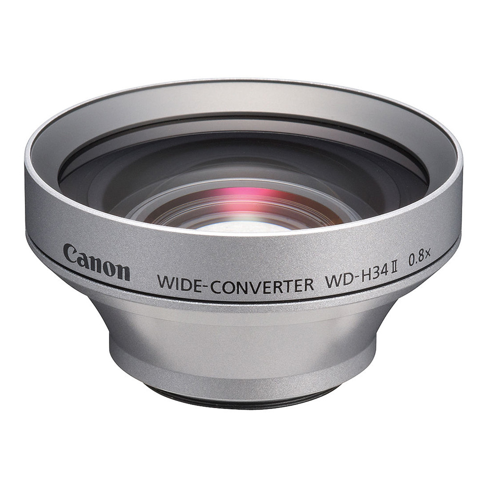 WD-H34 II 34mm 0.7x Wide Angle Converter Lens Silver