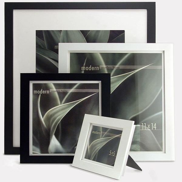 Image of Framatic 12 x 12 Modern Black Frame
