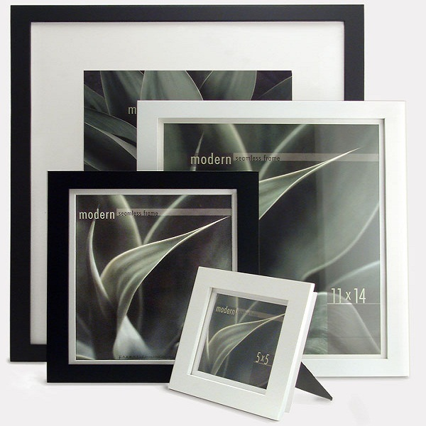 Image of Framatic 11 x 14 Modern Black Frame