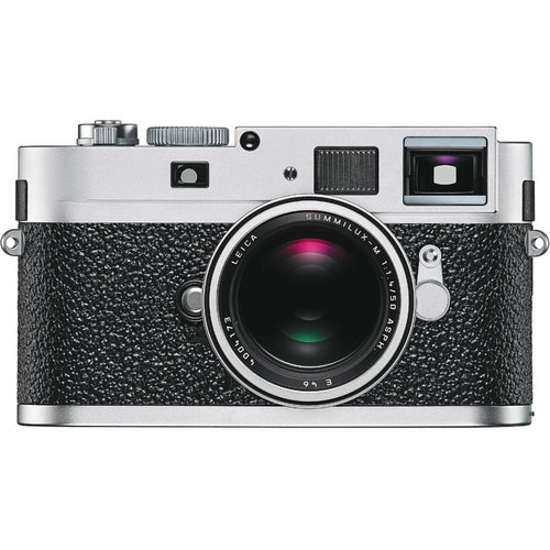 M9-P Digital Rangefinder Camera Body Silver Chrome