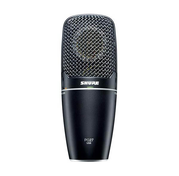 PG27USB Cardioid Condenser Vocal Microphone with USB Connection