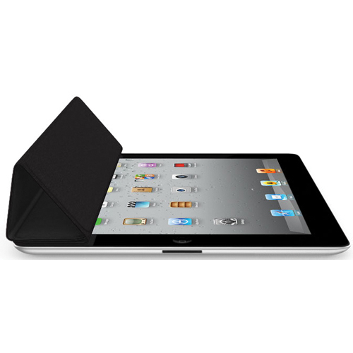 iPad Smart Cover for the iPad 2 and new iPad Leather  Black