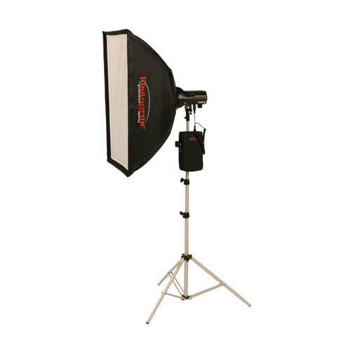 AKC50BRK 320W/s Travel Soft Box Kit with Battery and Radio AC/DC
