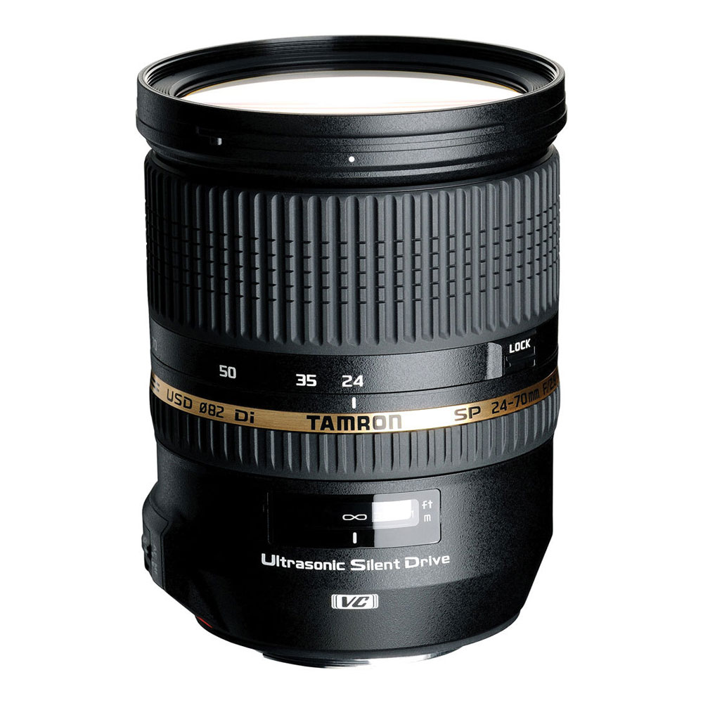 Image of Tamron SP 24-70mm f/2.8 DI VC USD Lens for Canon