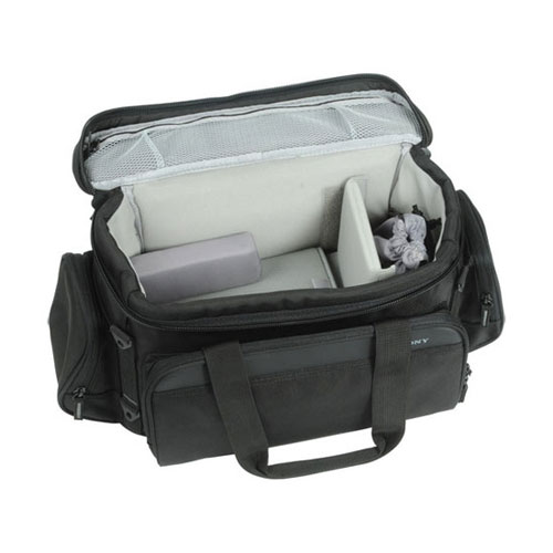 LCS-VCD Carrying Case for NEX-VG10 Handycam Camcorder