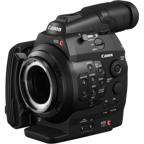 EOS C500 PL Cinema EOS Camcorder Body PL Lens Mount
