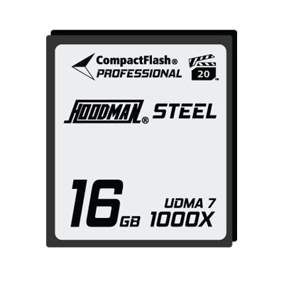 Steel 16GB CompactFlash Card 1000X