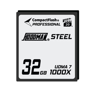 Steel 32GB CompactFlash Card 1000X