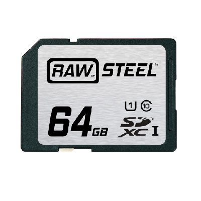 RAW Steel Ultra High Speed UHS-1