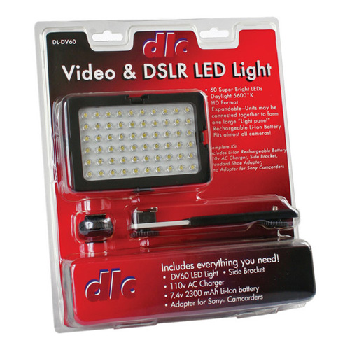 DL-DV60 Video  DSLR LED Light