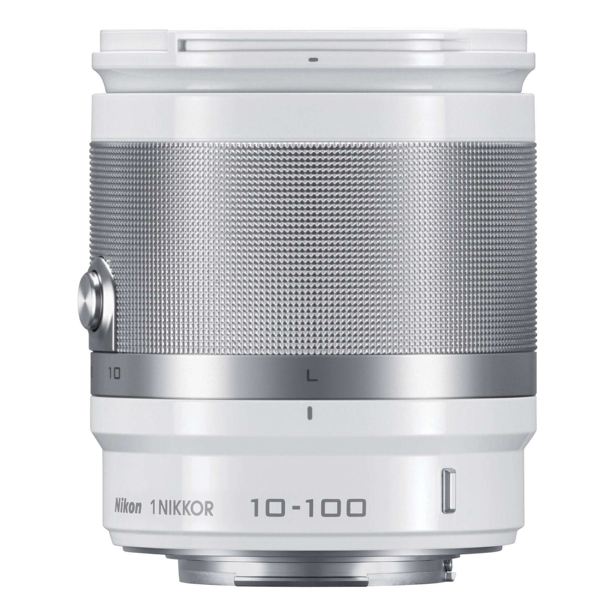 Image of Nikon 1 Nikkor 10-100mm f/4.0-5.6 VR Lens (White)