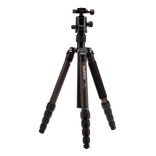 Image of MeFOTO GlobeTrotter Carbon Fiber Travel Tripod Kit (Black)