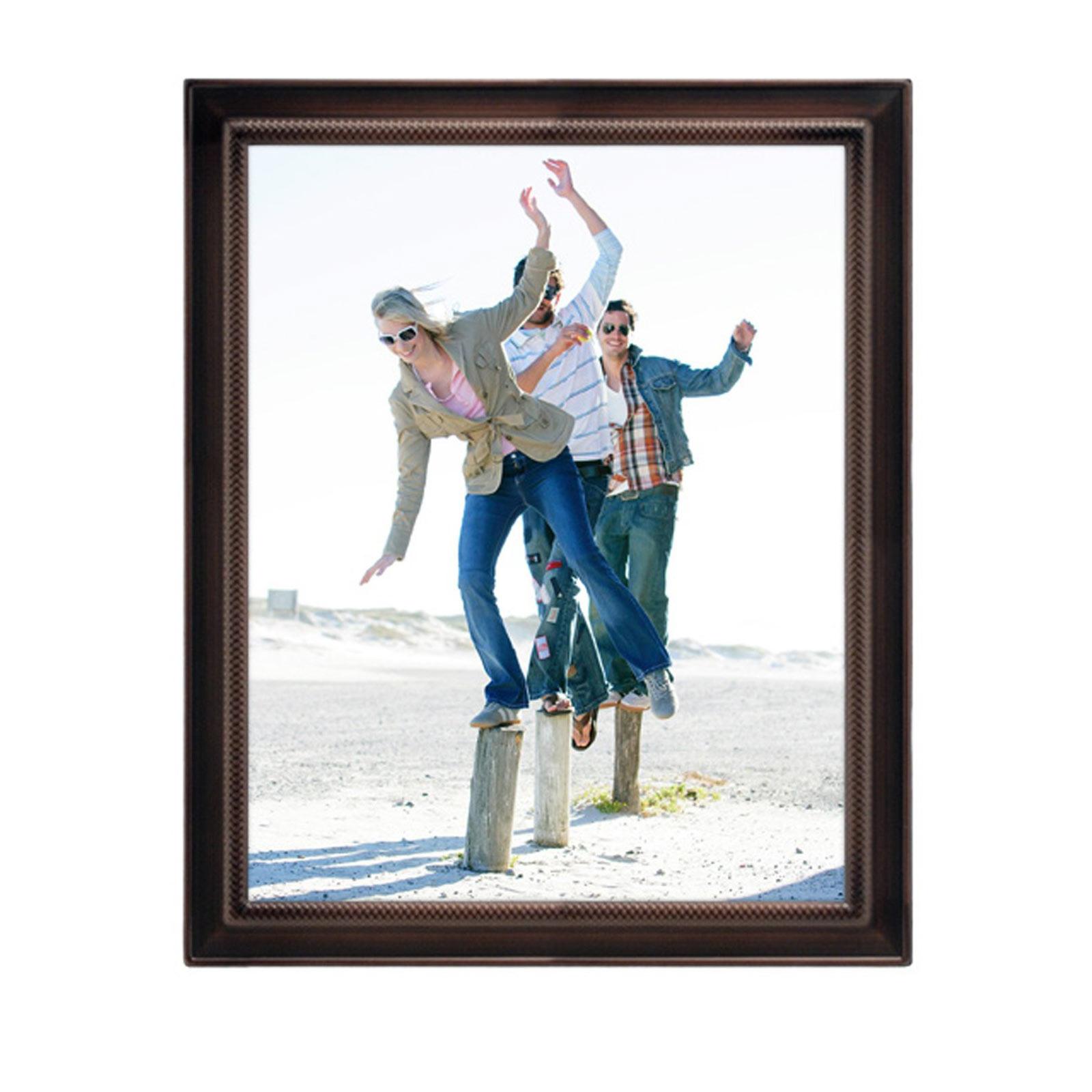8x10 Weaver Photo Frame Bronze