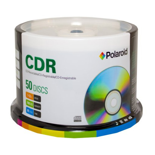 CD-R 700MB/80-Minute 52x Recordable Media Disc 50-Pack Spindle