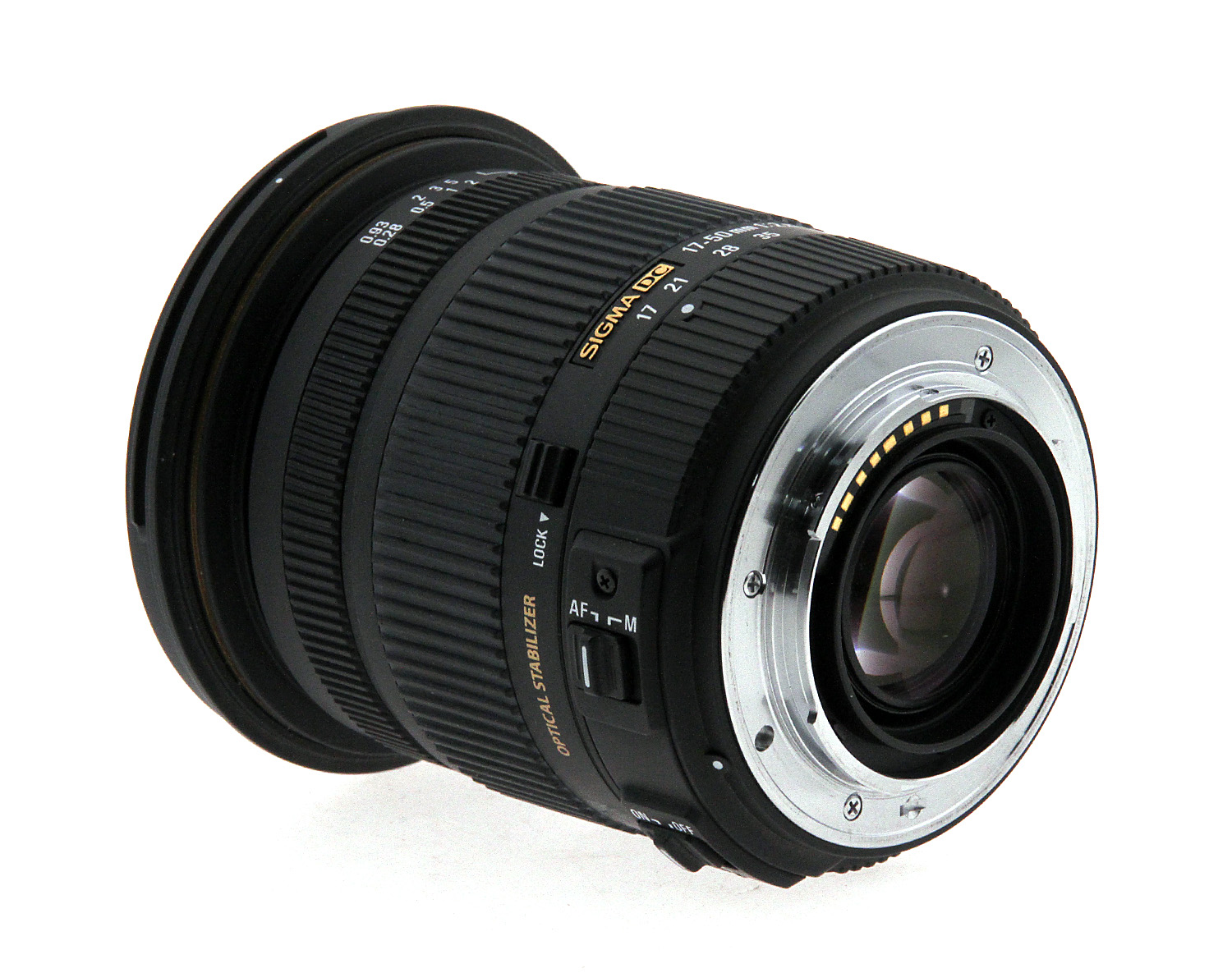 sigma 17 50mm f 2 8 ex dc os hsm zoom lens for sony open box. Black Bedroom Furniture Sets. Home Design Ideas