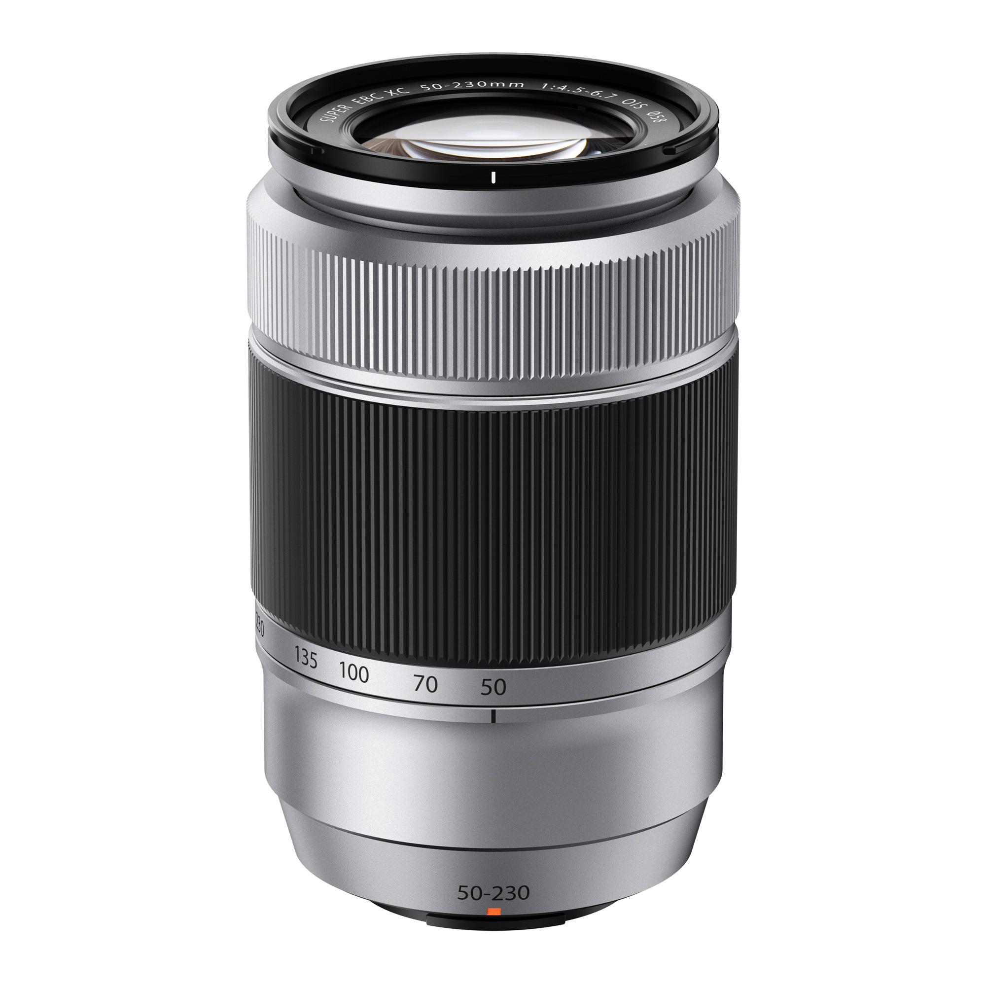 Image of Fujifilm FUJINON XC 50-230mm f/4.5-6.7 OIS Lens (Silver)