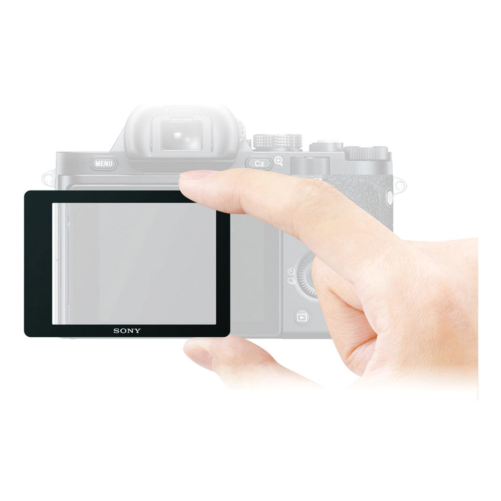Semi-Hard LCD Screen Protector for a7 or a7R Digital Camera
