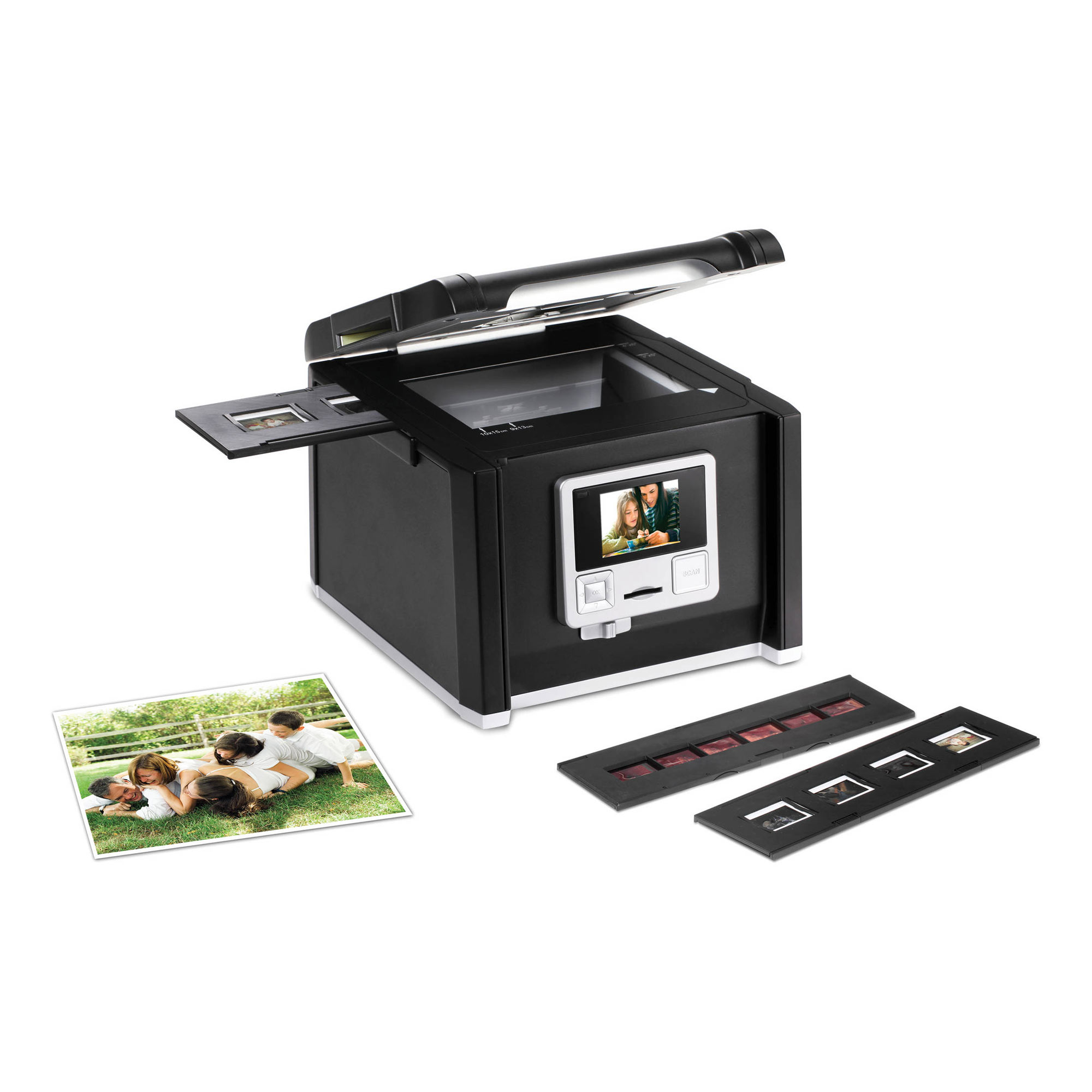 ImageBox MF 4-In-1 Slide Film Photo Converter
