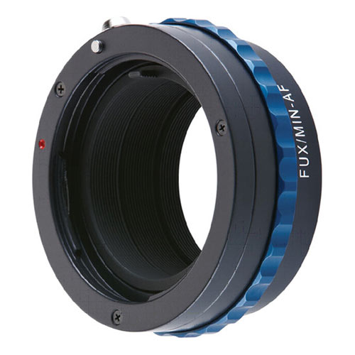 Adapter for Sony\/Minolta AF Mount Lenses to Fujifilm X Mount Digital Cameras