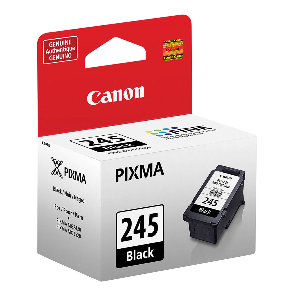 Canon Pg 245 Black Ink Cartridge For The Pixma Mg2420 And Mg2520 Pgi 29 Photo Magenta Printers 8279b001