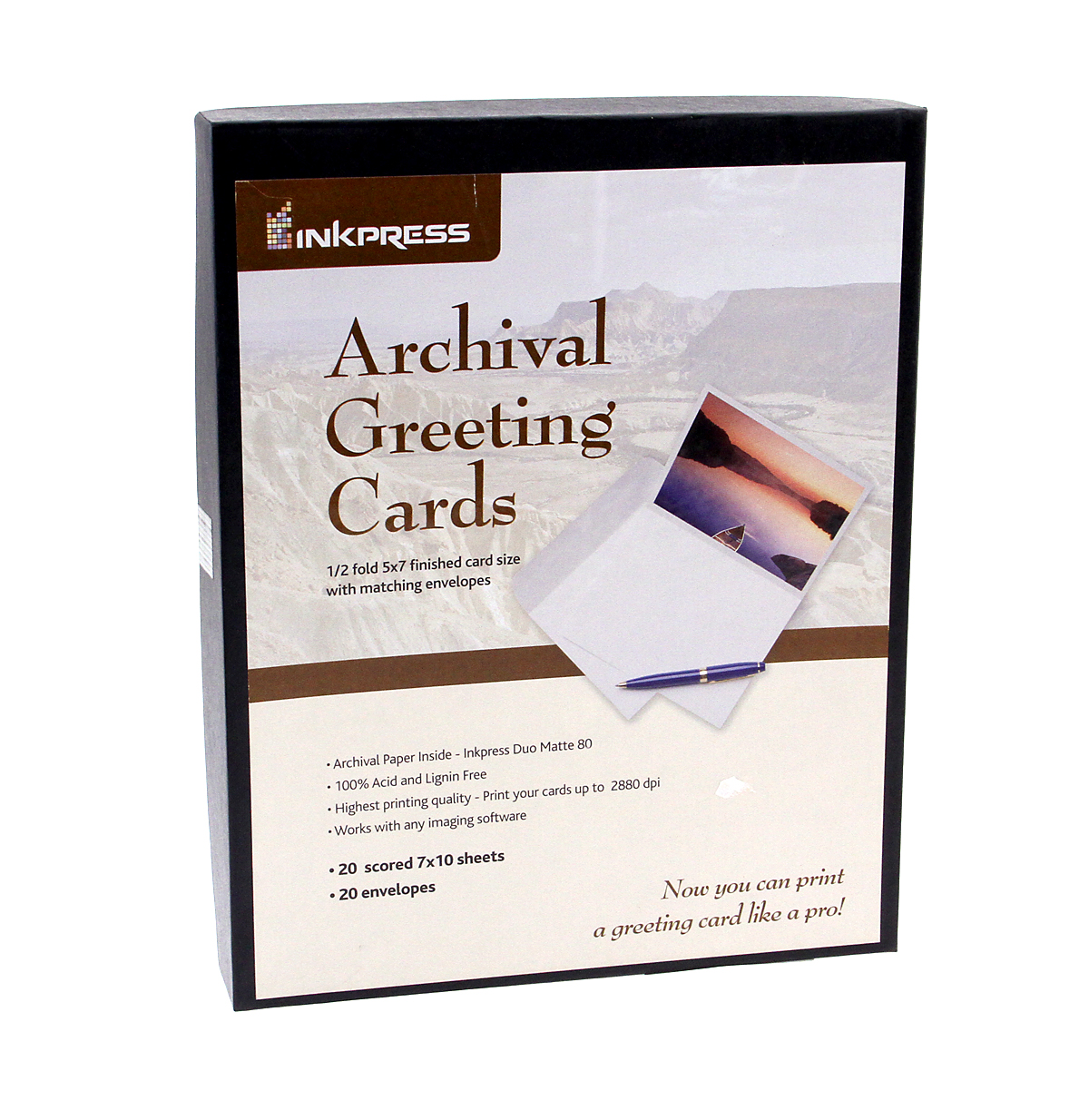Inkpress Archival Greeting Cards Pack (Open Box)