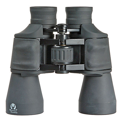 10x50 Whitetails Unlimited Binocular Clamshell Packaging