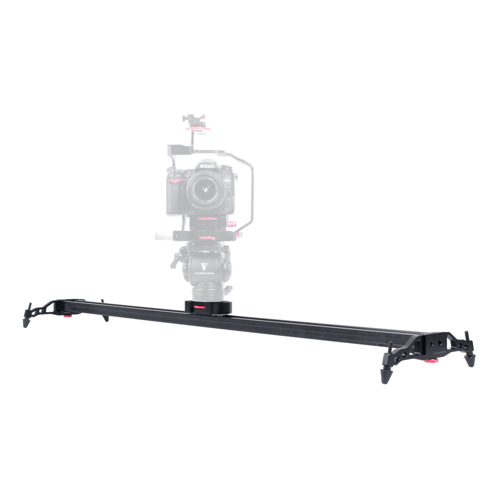 Black Varavon AMS5D ARMOR-S Double Handle Rig System for Canon 5D MK II