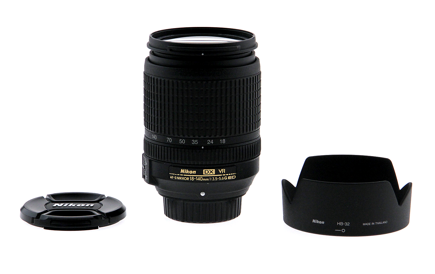 nikon af s dx nikkor 18 140mm f 3 5 5 6g ed vr lens open box 18208022137 ebay. Black Bedroom Furniture Sets. Home Design Ideas