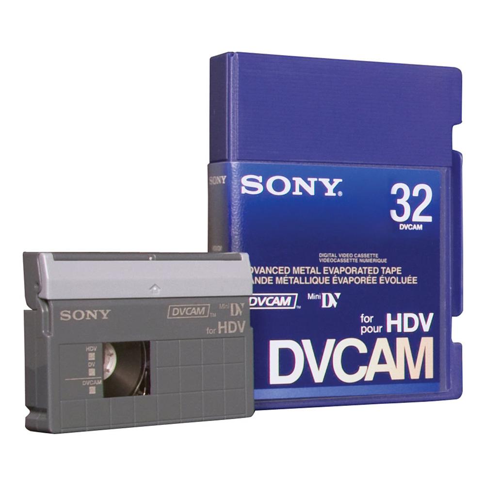 PDVM-32N/3 DVCAM for HDV Tape
