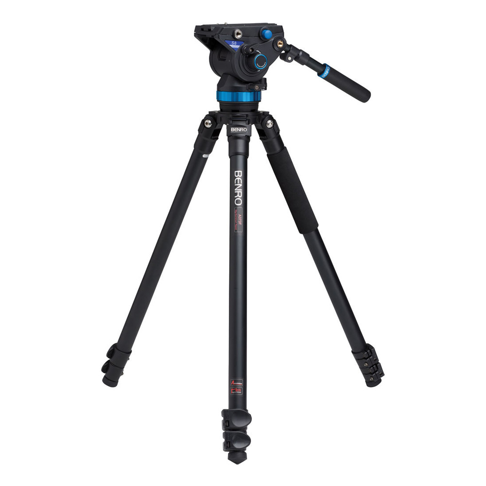 S8 Pro Video Head and 3 AL Tripod Kit