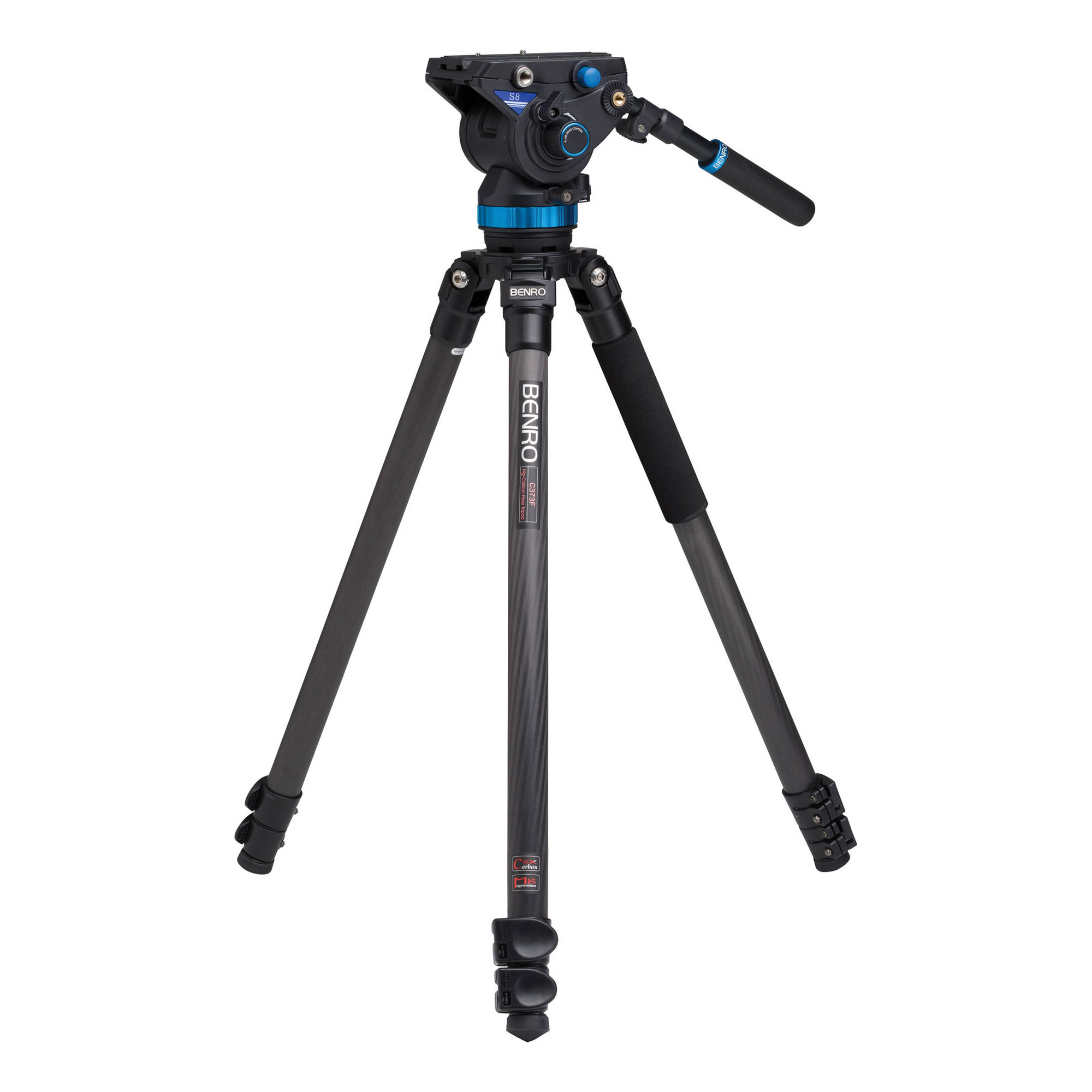 S8 Pro Video Head and Series 3 CF Tripod Kit