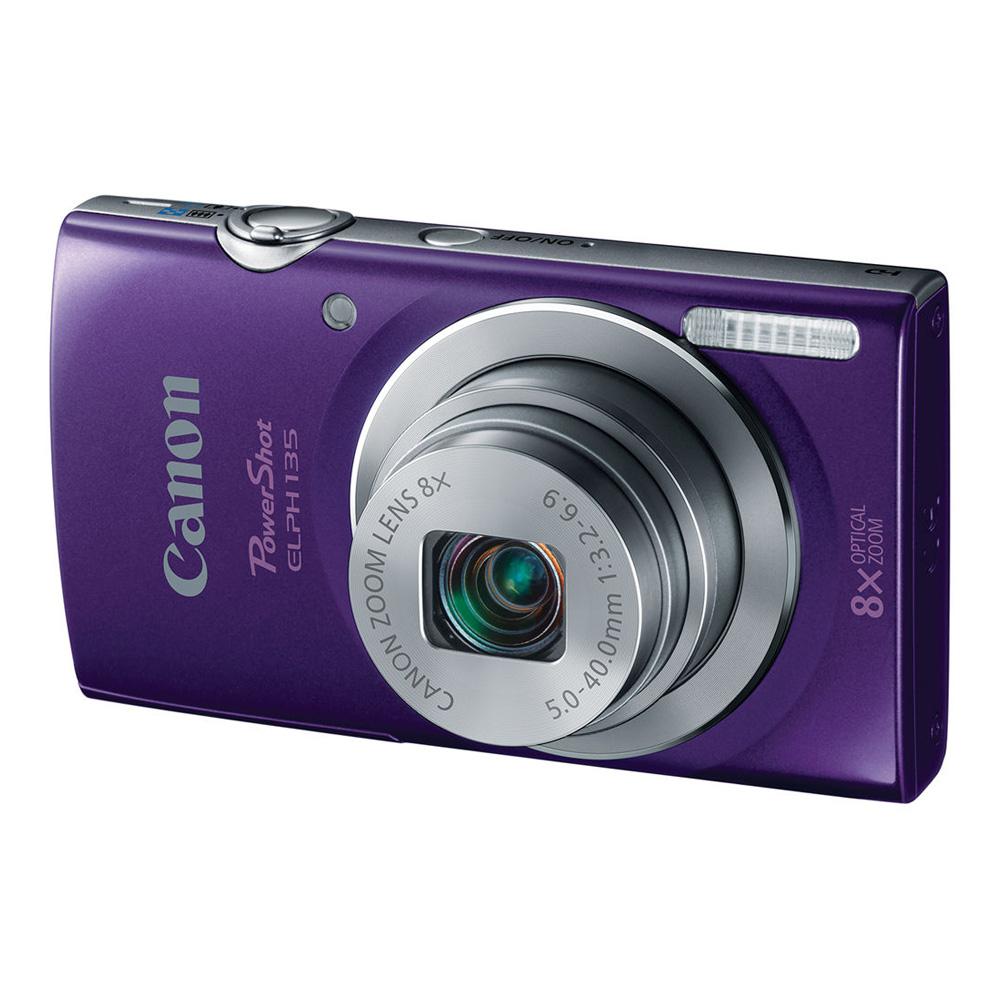 PowerShot ELPH 135 Digital Camera (Purple)