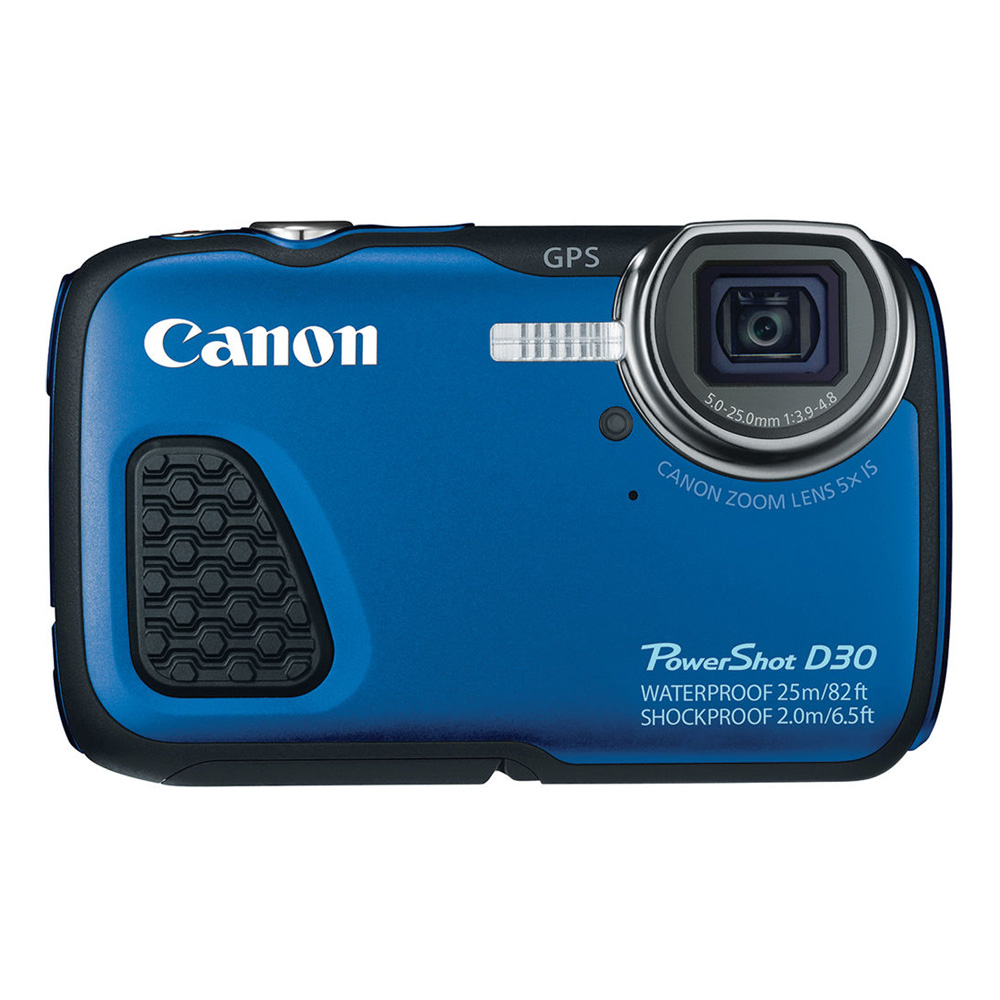 Click here for PowerShot D30 Waterproof Digital Camera Blue prices