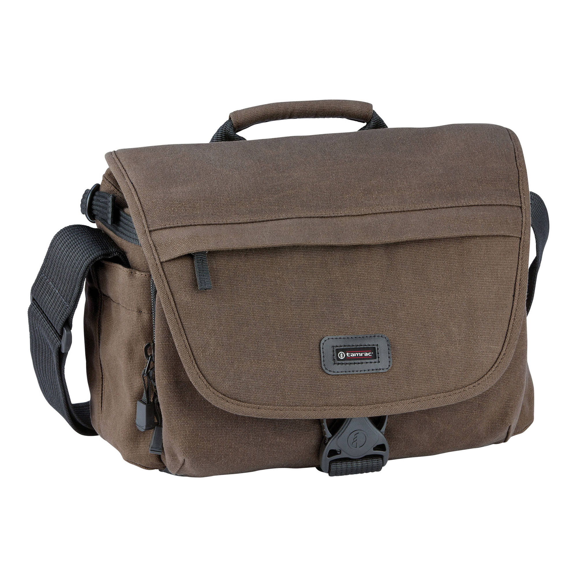 Apache 4 Camera/Tablet Messenger Bag (Brown)
