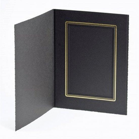 4X6 V Ebony Folder