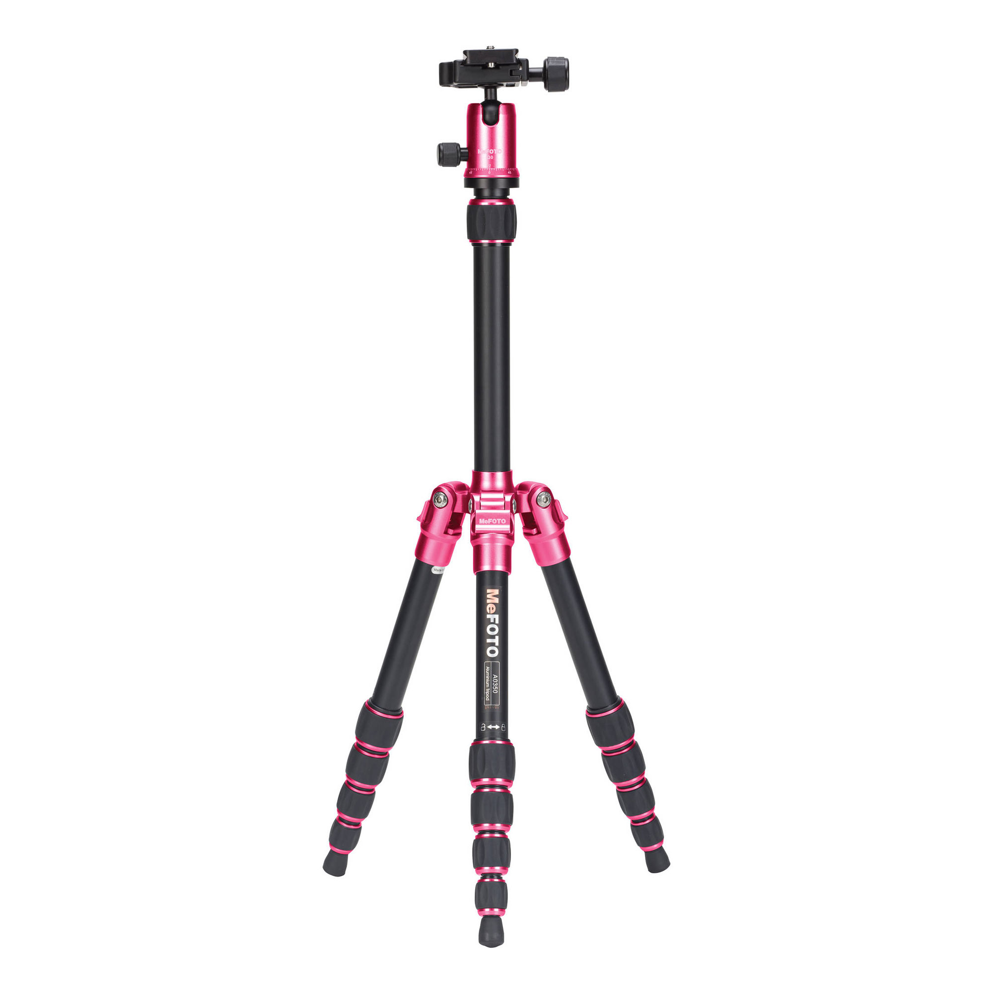 Image of MeFOTO BackPacker Travel Tripod (Hot Pink)