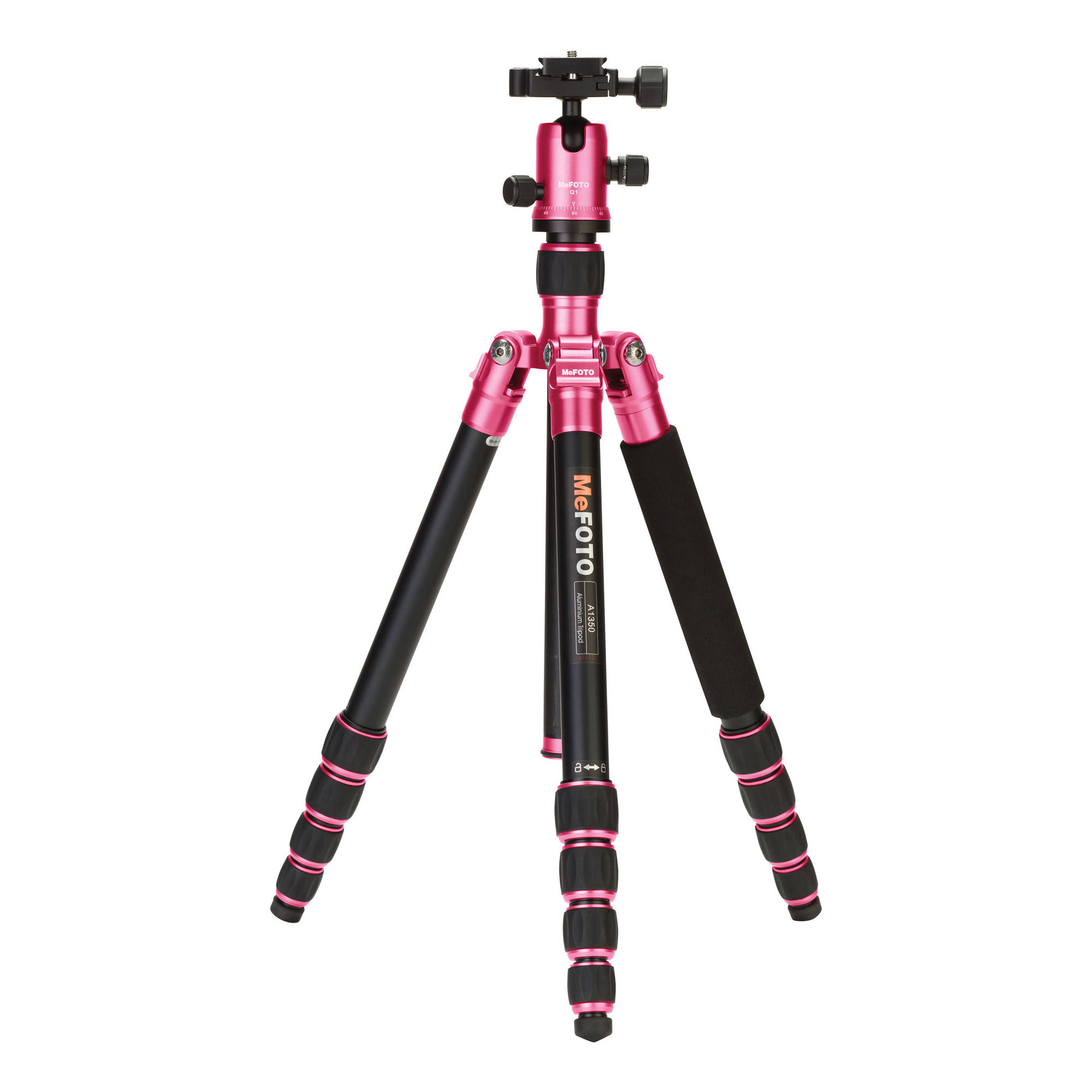 Image of MeFOTO RoadTrip Travel Tripod Kit (Hot Pink)