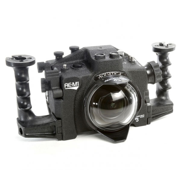 Underwater Housing for Olympus OM-D E-M1 Camera With Vacuum