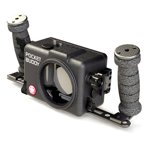 Pocket Buddy Underwater Housing for Blackmagic Pocket Cinema Camera