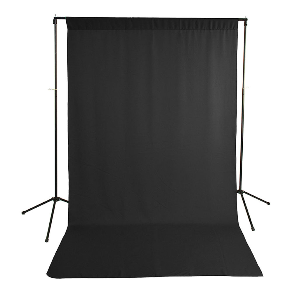 Economy Background Support Stand with Black Backdrop