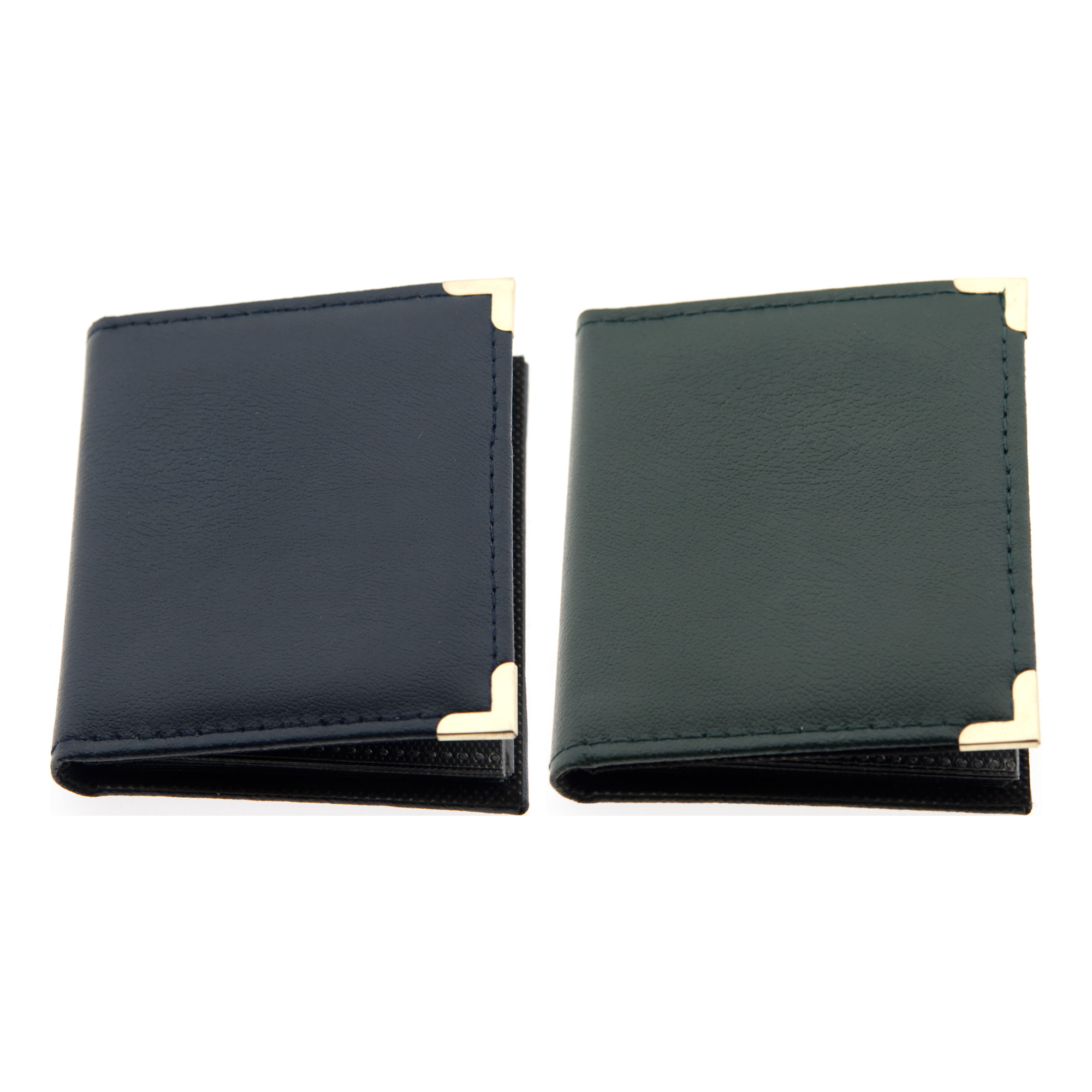 2.5 x 3.5 In. Wallet SM23 Oxford Brass Corner Photo Album Assorted Colors