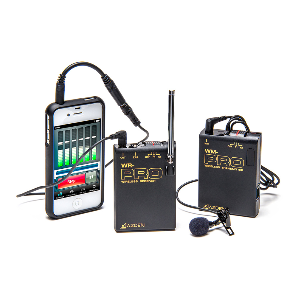 WLX-PRO+i VHF Wireless Lavalier System for Cameras  Mobile Devices