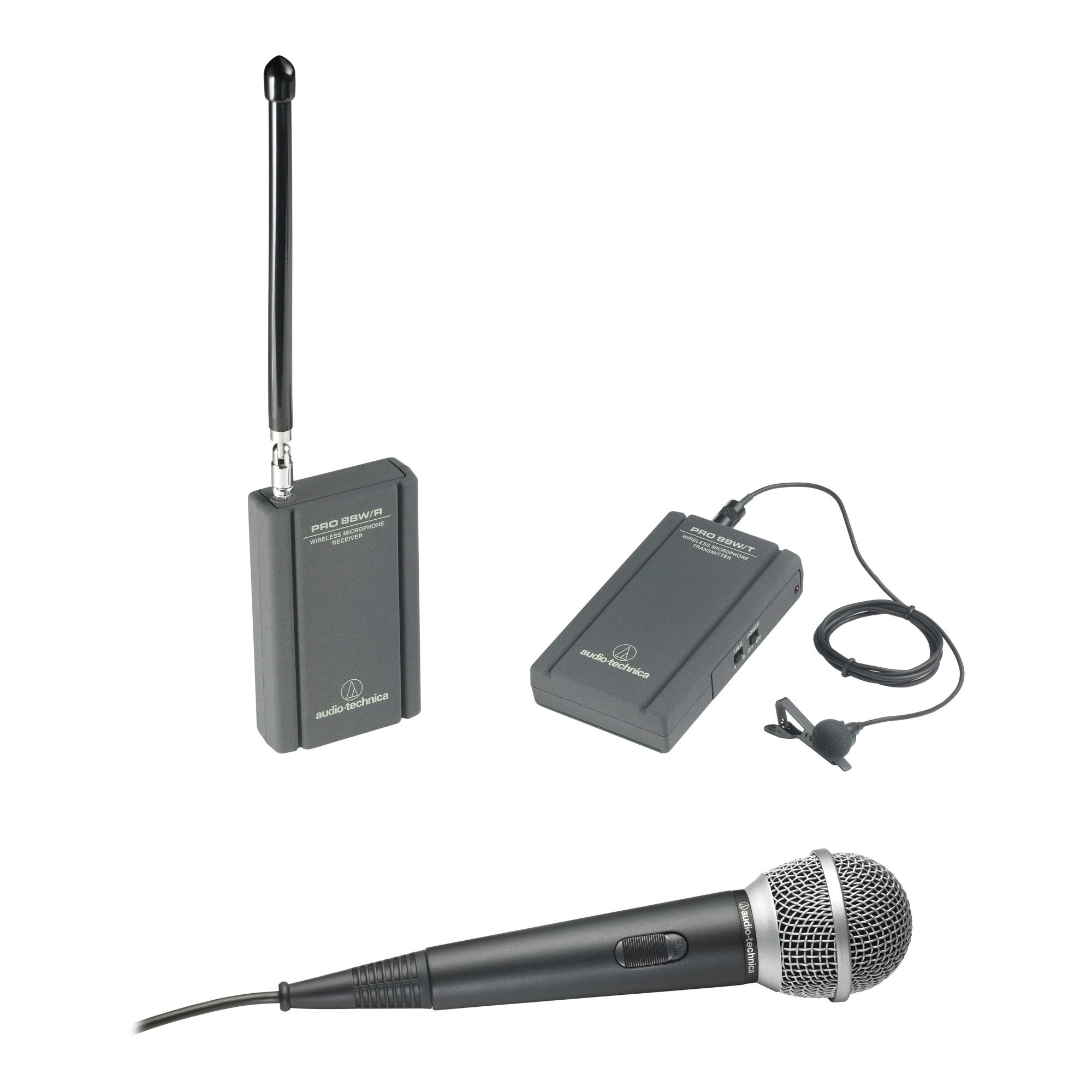 ATR288W VHF TwinMic Wireless System