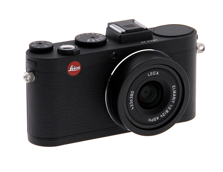 Leica X2 Digital Compact Camera w/Elmarit 24mm f2.8 ASPH Lens - Black (Used)