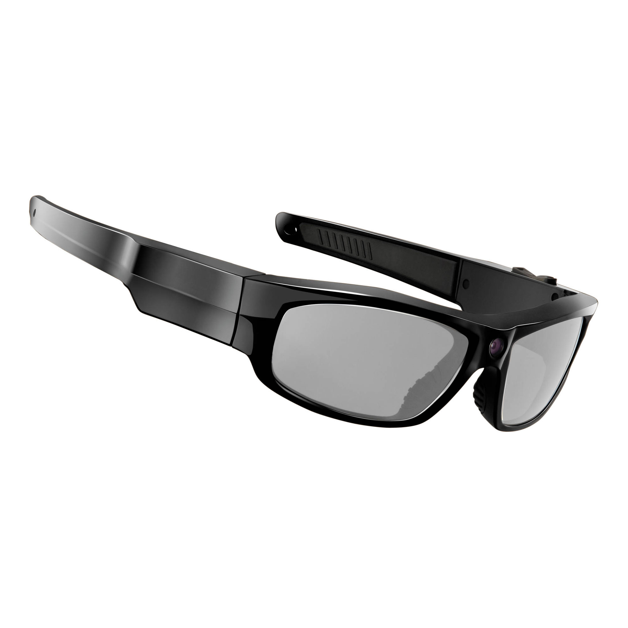 Durango Glossy 1080p Video Recording Sunglasses Black